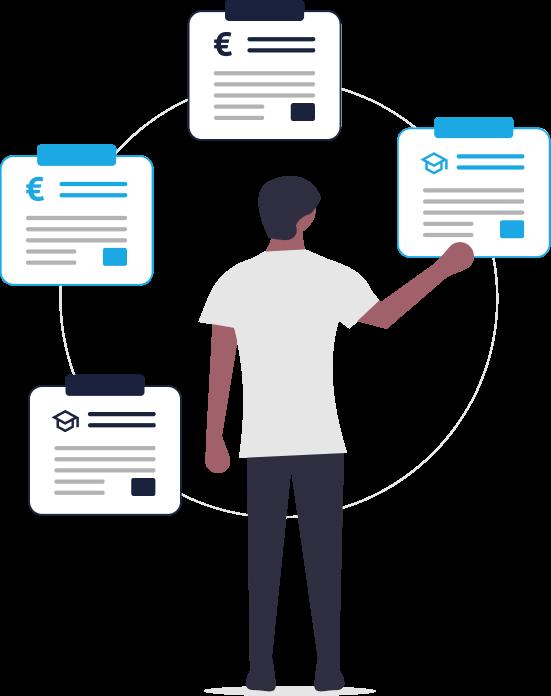 Grafik für automatisiert Kooperationspartner finden